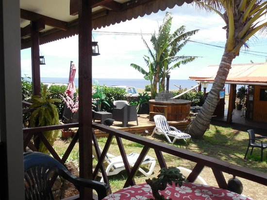 Mataveri Inn: View from the room daytime