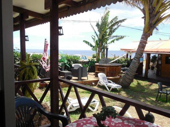 Mataveri Inn : View from the room daytime