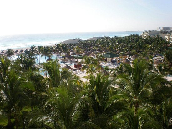 Iberostar Cancun: view from balcony of room