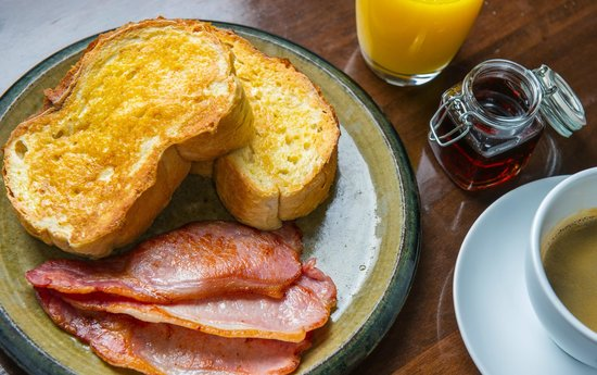 The Salty Dog Hotel and Bistro : Eggy Bread (or French Toast) at The Salty Dog, Bangor
