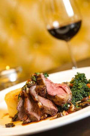 The Salty Dog Hotel and Bistro : Lamb at Salty Dog Hotel & Bistro, Bangor