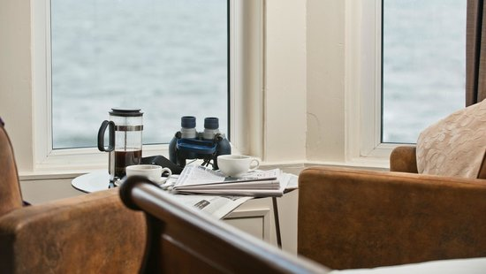 The Salty Dog Hotel and Bistro : Rooms with a view at The Salty Dog, Bangor