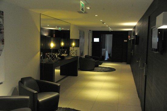 Alvisse Parc Hotel: hall d'entrée