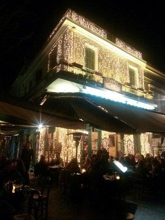 Diodos Archaias Agoras : Restaurante, fachada