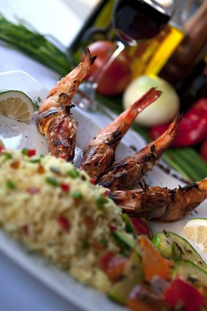 The Alamo Steakhouse & Grill: Grilled Shrimp