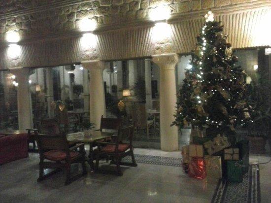 Parador de Carmona: Cafetería en Navidad