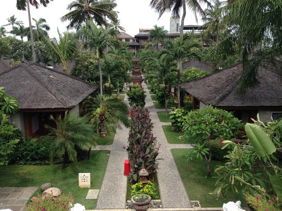 Bali Mandira Beach Resort & Spa: View from Adults only Pool