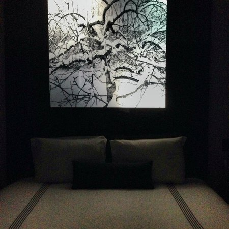 SIXTY LES: Backlit headboard and bed.