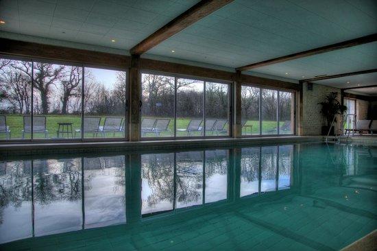 Les Manoirs de Tourgéville: Nous avions la piscine rien que pour nous