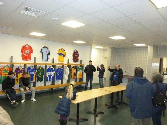 Croke Park Stadium Tour & GAA Museum: spogliatoio