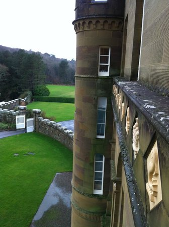 Culzean Castle : view from dressing room