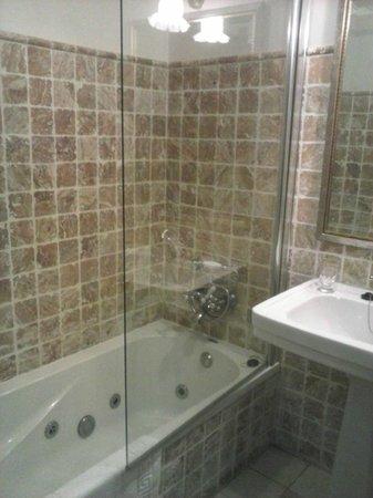 Hospederia del Monasterio: Baño