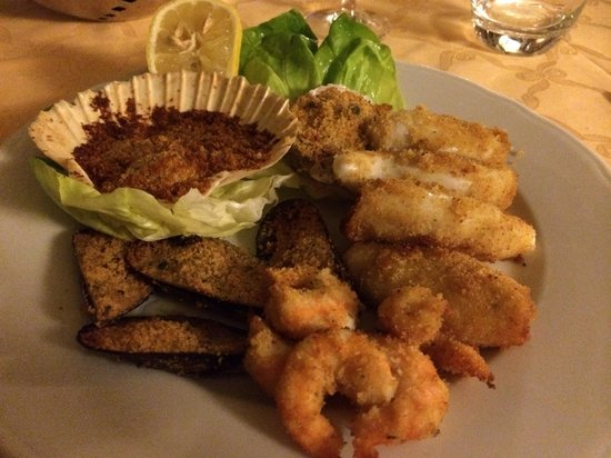 Gratinated seafood picture of lacerba milan tripadvisor for Seafood bar zurich