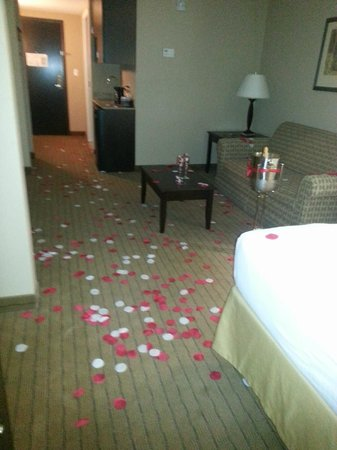 Holiday Inn Express & Suites Fort Myers- The Forum: Flower petals