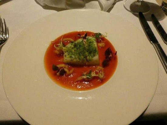 Rubens Restaurant: Starter (halibut)