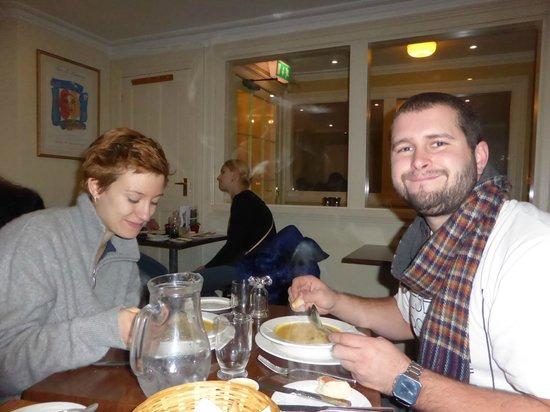 Tilleys Bistro: American Vegan/Vegetarians enjoying Tilleys