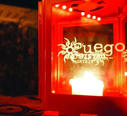 Fuego Bistro: Candlelight Dining