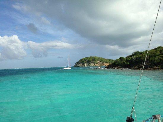 Tobago Cays: vista