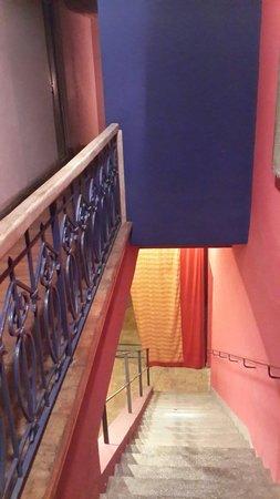 Bahiacafé Hotel: El interior del hotel