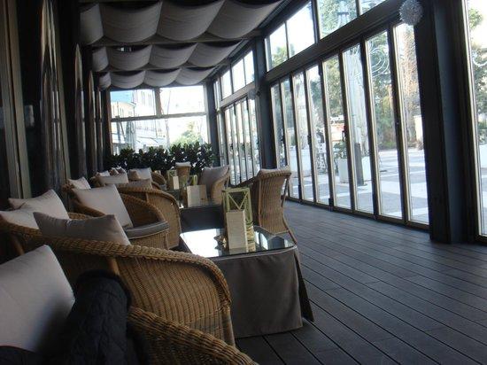 Hotel Formentin: Терраса отеля