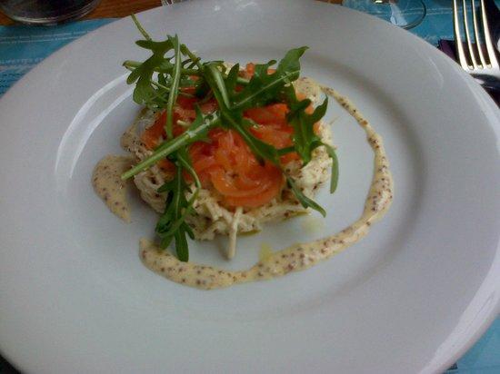Le Bonrepaire: Céleri saumon