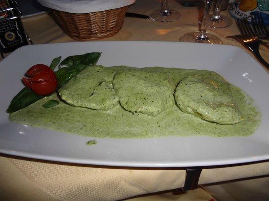 Hotel Onda Verde : My favorite hotel dinner meal