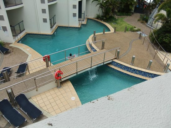 Mantra Hervey Bay: Balcony view from room 323
