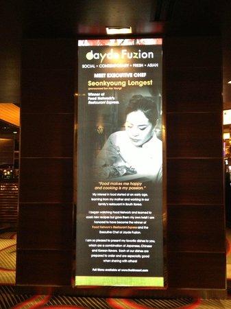 M Resort Spa Casino: Jayde Fuzion