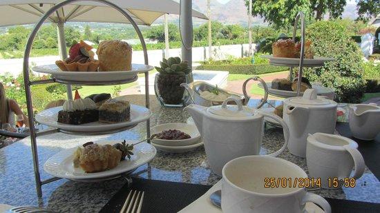 Grande Roche Hotel: High tea