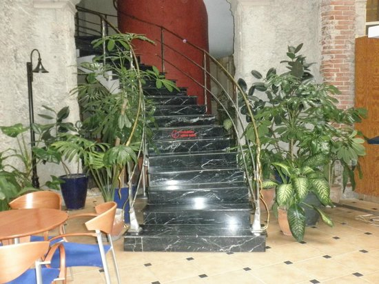 Hotel Telegrafo: ESCALERA