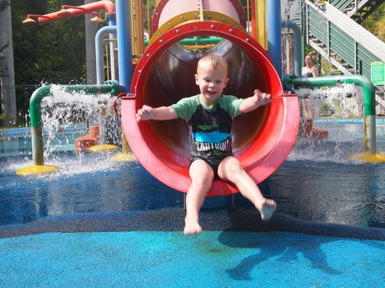 Taupo DeBretts Spa Resort: Fun times for all ages
