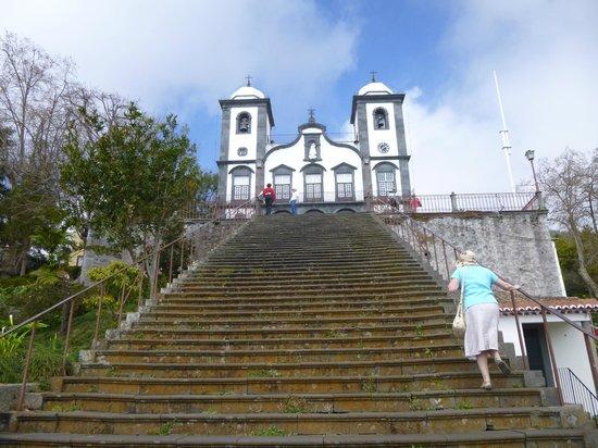 Igreja de Nossa Senhora do Monte: Steep steps up to the church of our Lady