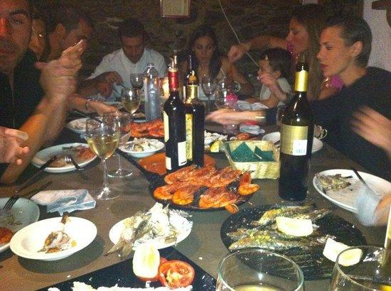 Casa Anita: Una buena cena de San Juan (ya van 8 años seguidos)