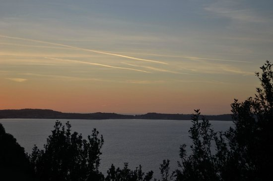 Parco Virgiliano: tramonto