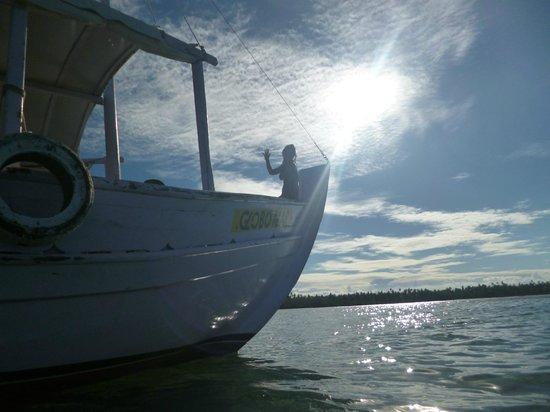 Garapua Beach: Saliendo para las piscinas