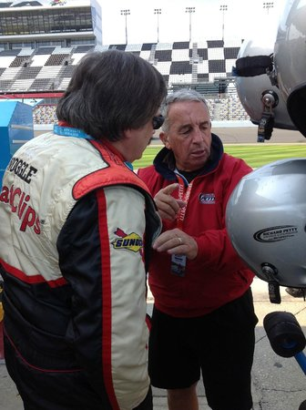 Richard Petty Driving Experience: Time for a helmet and Hans