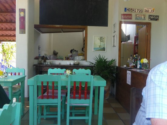 Cafe Juanita: a view of the room