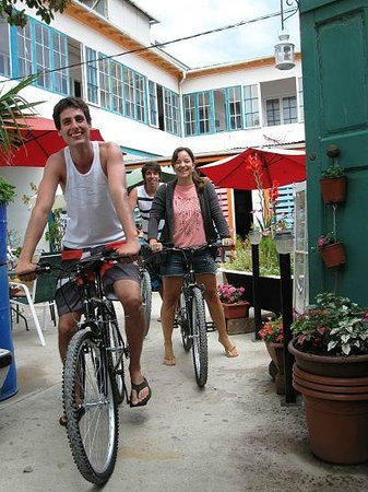 Street Garden Hostel: Now Rent Bike