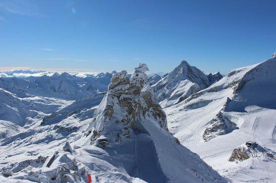 Hintertux: au sommet du glacier