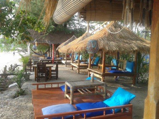 Gili Air Santay: Restaurant