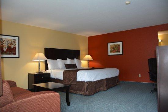 McMinnville Inn: Queen Room