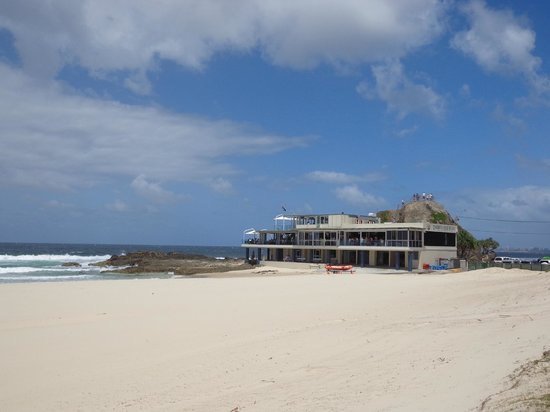 Beach - View of the Currumbin Beach Vikings Surf Life Saving Club