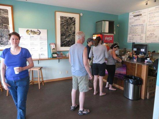 Fish Market Maui : Modest walk up counter, plenty of good options at a decent price.