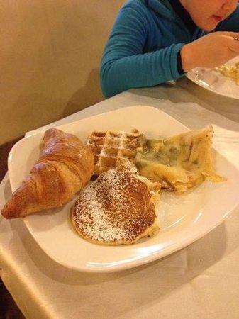 Hotel Piz Galin : colazione