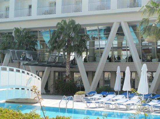 La Blanche Resort & Spa : particolare della piscina