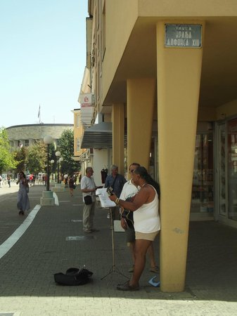 Hotel Vidovic: ulica próxima ao hotel em Бања Лука