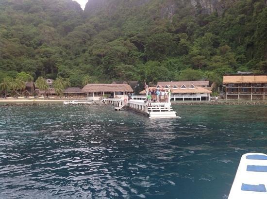 El Nido Resorts Miniloc Island: byyyeeeeeeee!