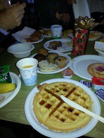 Hampton Inn Santa Barbara/Goleta: la prima colazione