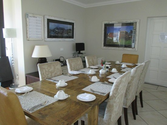 3 On Camps Bay Boutique Hotel: Dining room