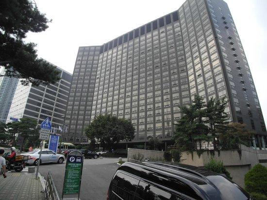 Millennium Seoul Hilton: Front of Hotel